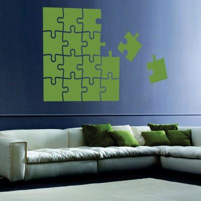 Adesivo Murale Puzzle da Completare
