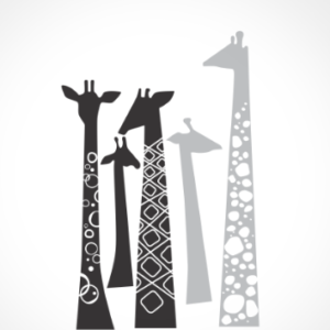 adesivo_murale_5_giraffe