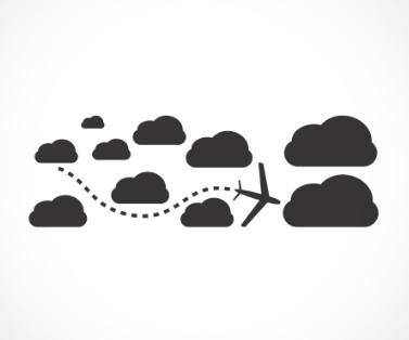adesivo_murale_aereo_nuvole