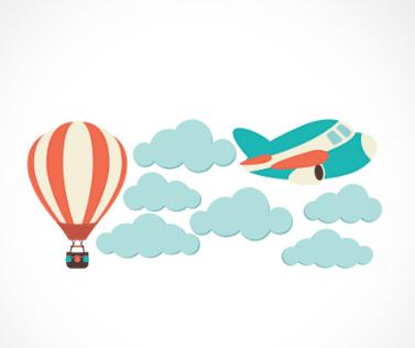 adesivo_murale_aereoplano