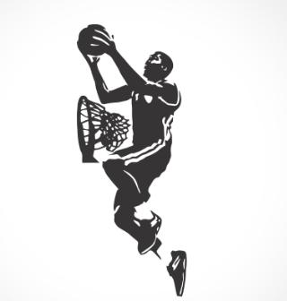 adesivo_murale_cestista