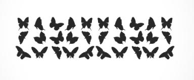 adesivo_murale_farfalle