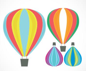 adesivo_murale_mongolfiere
