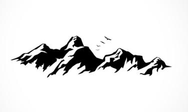 adesivo_murale_montagne