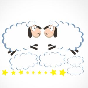 adesivo_murale_pecorelle