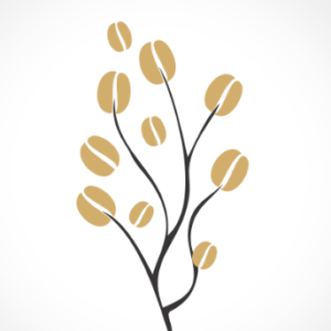 adesivo_murale_pianta_caffè