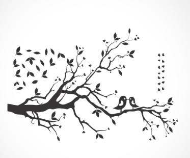 adesivo_murale uccellini