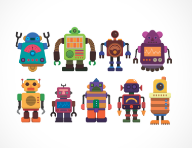 adesivo_murale_robot