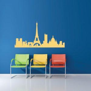 Adesivo Murale Skyline Paris