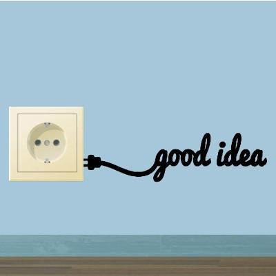 Adesivo Murale Good idea