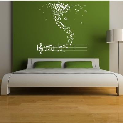 Adesivo Murale A Ritmo di Musica