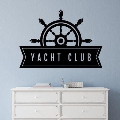 Adesivo Murale Yacht club