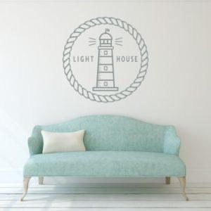 Adesivo Murale Light House