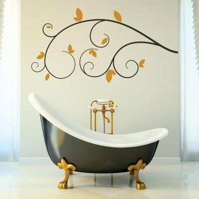 Adesivo Murale Ramo Elegante