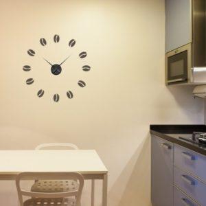 Adesivo Murale Orologio Chicco Caffè