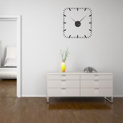 Adesivo Murale Orologio Quadrato