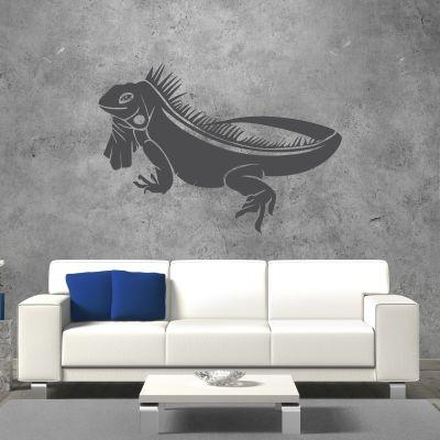 Adesivo Murale Iguana