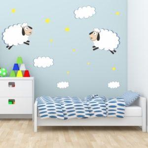 Adesivo Murale Pecorelle