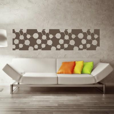 Adesivo Murale Cornice Elementi
