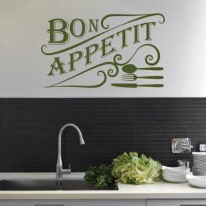 Adesivo Murale Bon Appetit (2)