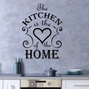 Adesivo Murale Kitchen Is the Heart of the Home
