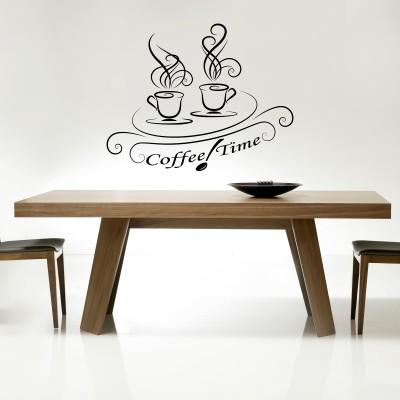 Adesivo Murale Coffee time