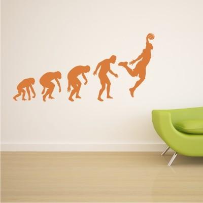 Adesivo Murale GIocatore di Basket Evoluzione