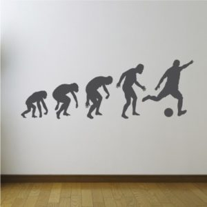 Adesivo Murale Evoluzione Calcistica