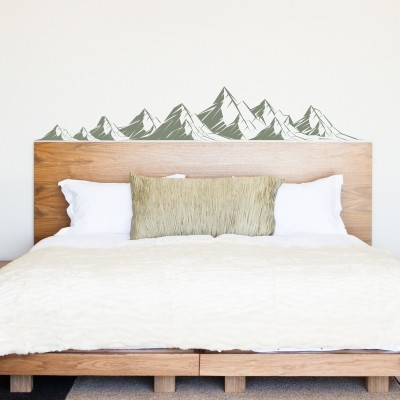 Adesivo Murale Montagne