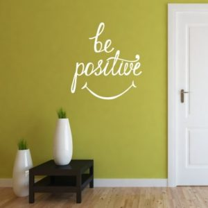 Adesivo Murale Be Positive