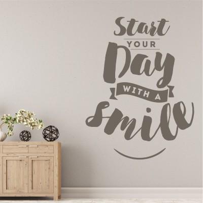 Adesivo Murale start your day