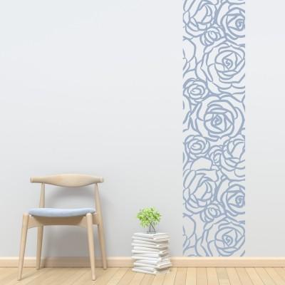 adesivo murale Cornice di Rose