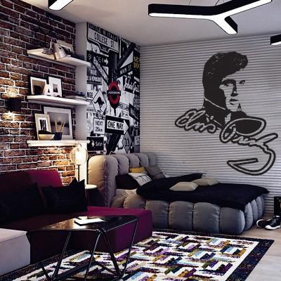 Adesivo Murale Elvis Presley