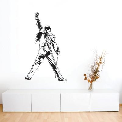 Adesivo Murale Freddie Mercury