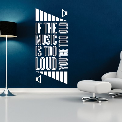 Adesivo Murale Loud Music