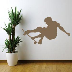Adesivo Murale Skateboard