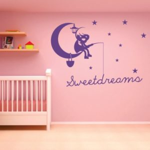Adesivo Murale Sweetdreams