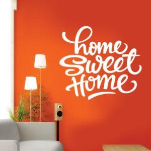 Adesivo Murale Home Sweet Home