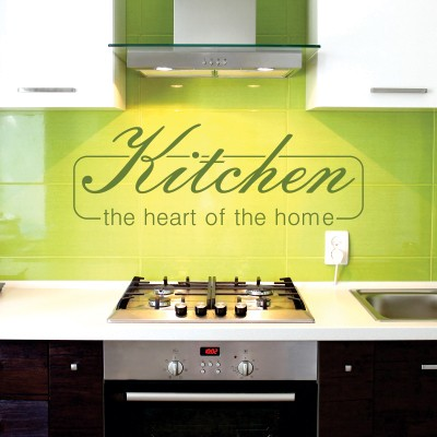 Adesivo Murale Kitchen The Heart of the Home
