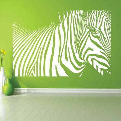 Adesivo Murale Zebra