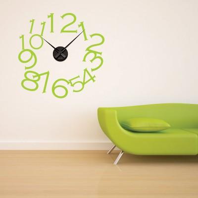 Adesivo Murale Orologio Numeri Grandi