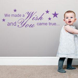 Adesivo Murale Wish