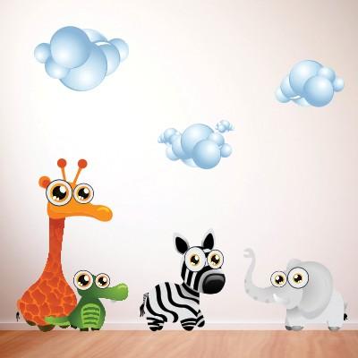Adesivo Murale Animaletti