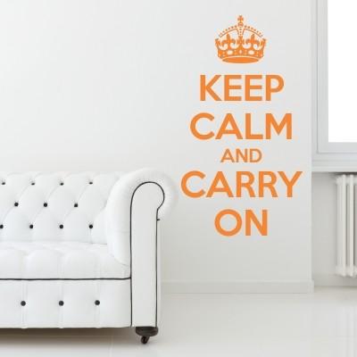 Adesivo Murale Keep Calm
