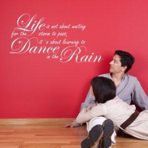 Adesivo Murale Dance in the Rain
