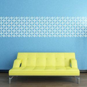 Adesivo Murale Molecole Ordinate