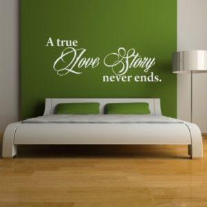Adesivo Murale Love Story