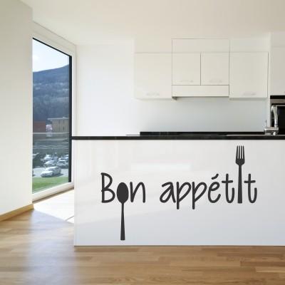 Adesivo Murale Bon Appetit