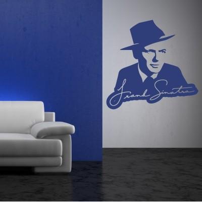 Adesivo Murale Frank Sinatra