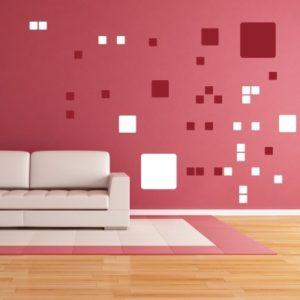 Adesivo Murale Quadrati